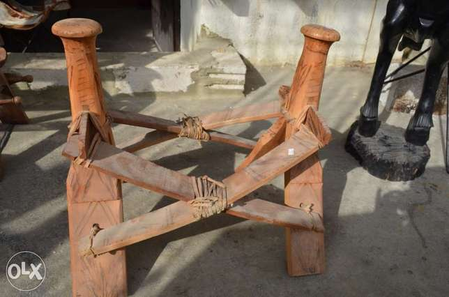 seat for camel antique solid wood