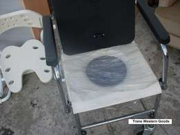 Toilet wheelchair very good commode chair manufactured in Germany 138