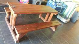 Hout bankie