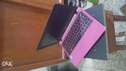 Pink Acer Aspire Laptop