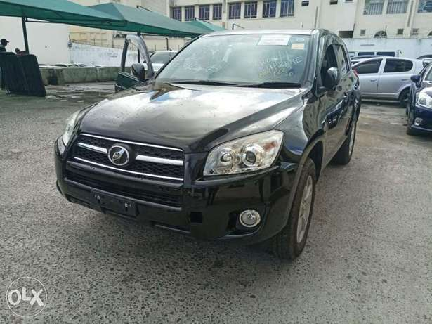 2010 model of Black Rav 4 with dark interior KCP number Mombasa Island - image 3