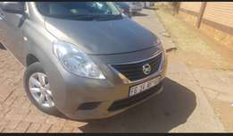 Nissan Almera plus uber and taxify slots