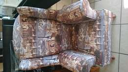 Wingback couch