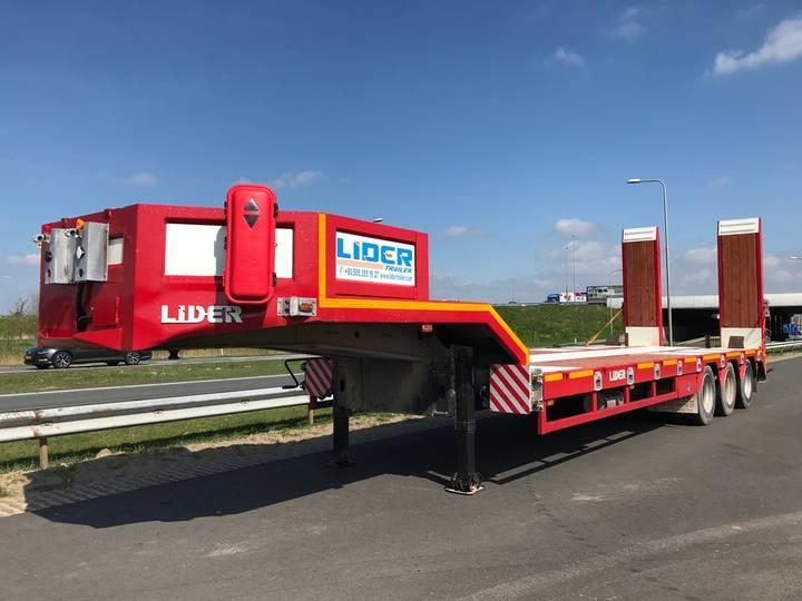 Lider LD07 60 Ton Tri/A Semi Lowboy - 2019