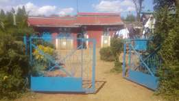 3 B/r & Plot in Uplands Next to a Nyambari police station