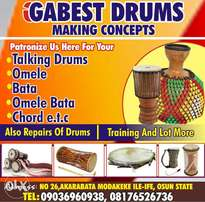Talking drum (Gangan).