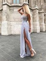 9587159c7a9e Sukienka Lou 38M wesele ślub urodziny impreza studniówka popielata
