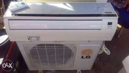 Hot deal!!! Mirror face LG 1.5Hp split Ac.
