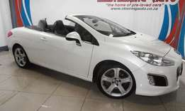 2012 peugeot 308 cc 1.6 thp convertible very sporty and stylish