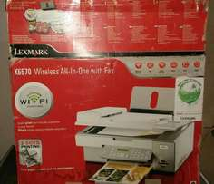 LEXMARK -X6570 -Wireless ALL in ONE with FAX PRINTER