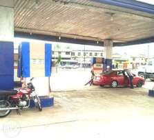 Filling Station with 2 and half plot of land at Oke-Afe.