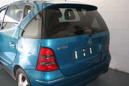 MERCEDES A160 MANUAL Breaking for Spares.