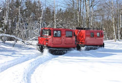 Autovehicul pe senile Hellgeth - Hagglunds Bv 206 CDI snow