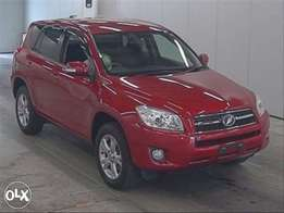 KCN..2011 Toyota RAV4..4WD Wine Red 30000kms