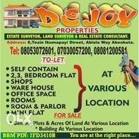 2 plots of land at abiola way for commercial purpose
