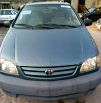Foreign used Toyota Sienna 2002