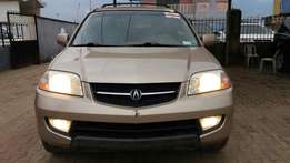 Extremely Clean Tokunbo Acura MDX 2002
