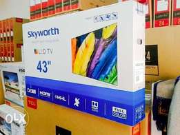 Skyworth 43 inch digital TV with over 100 channels free to air