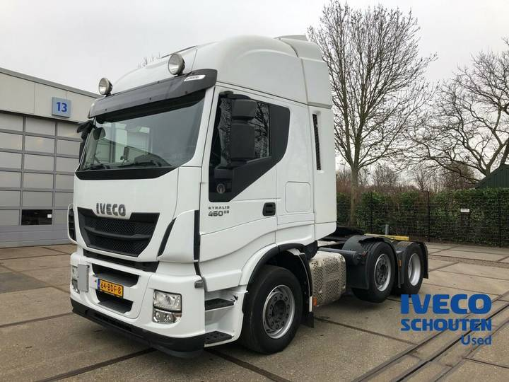 Iveco Stralis AS440S46TX/P 6X2 EURO VI 2013 manual 509.376 km - 2013