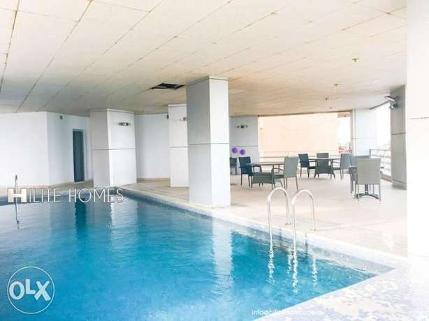 Sea view Two bedroom duplex for rent in Salmiya