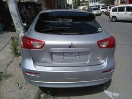 Mitsubishi gallant fortis sports back KCM number 2010 model loaded