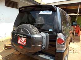 A Mitsubishi 2008model short pajero, on sale
