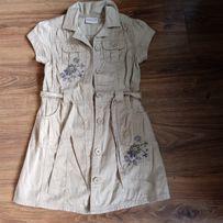 6f1dc80bf6 Sukienka szmizjerka NEXT 116