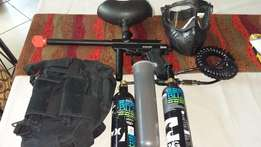 Snyper Sonix Paintball Gun Kit & accessories!
