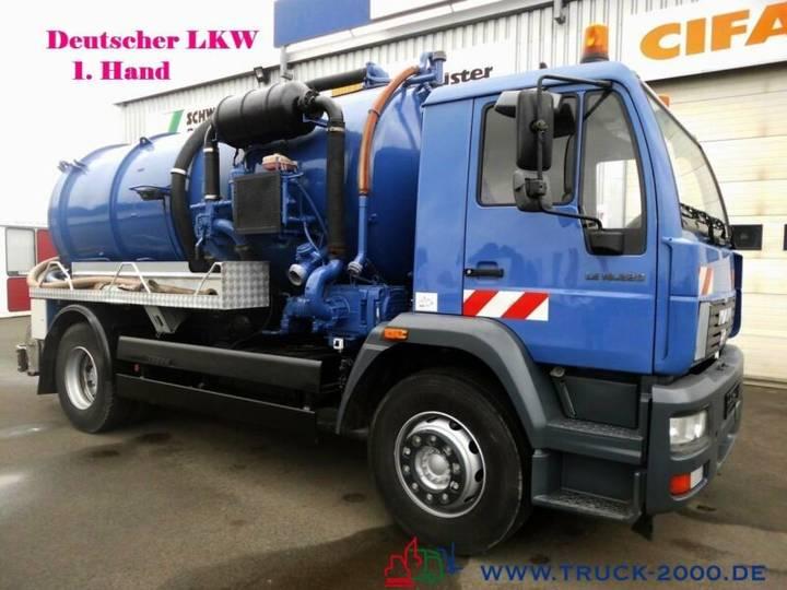 MAN 18.220 Hochdruck Saug Spülwagen 10m³ 500L Wasser - 2006