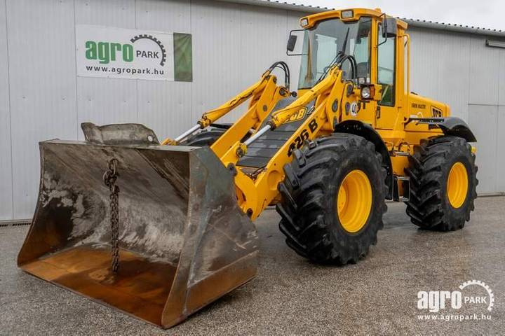 JCB 426b Agri Farm Master (9624 Hours) Wheel Loader - 2000