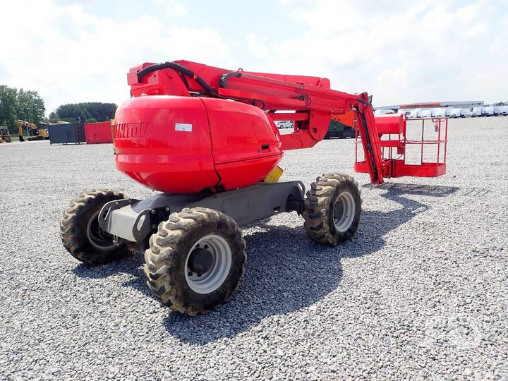 Manitou 160ATJ 4x4x4 Articulated Boom Lift - 2008
