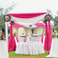 Tents,Tables,Chairs & decor for hire