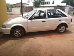 I am selling a mazda 323 for the amounrt of R 11000