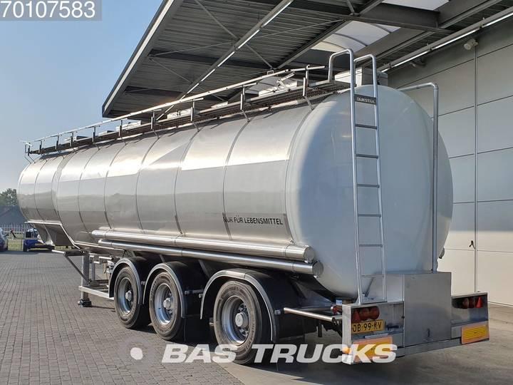 Dijkstra DRVOC 18-28/12-28 AT 41.000 Ltr Food tank Lenkachse - 1990