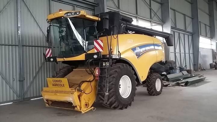 New Holland cx 6080 - 2012