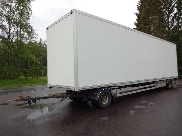 NTM 2axl Volymsläp Utp-391 - 2000