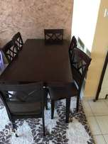 six sitter dining table