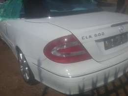 MERCEDES-BENZ CLK 500 stripping for spares