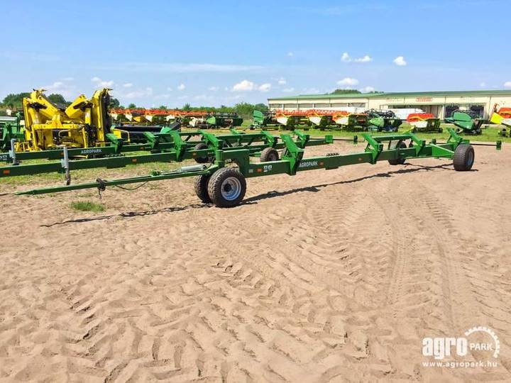 Agropark New Ff16f Trolley With Bogie Axle For 11, - 2019