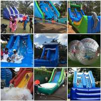 Slide water slides,zorb balls,air ball,portable pools for hire pool