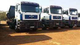 4 x 34 ton Side Tippers needed in Mooinooi