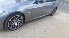 20 inch BMW E90 F30 Competition mags with 70% Tread Pirelli Tyres