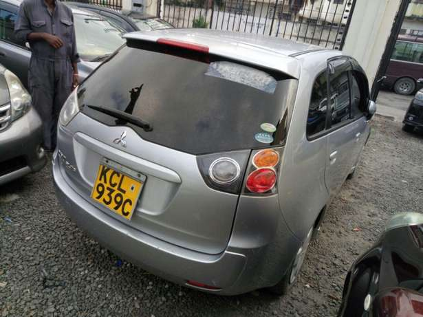 Mitsubishi colt plus KCM number 2010 model loaded with alloy rims Mombasa Island - image 3