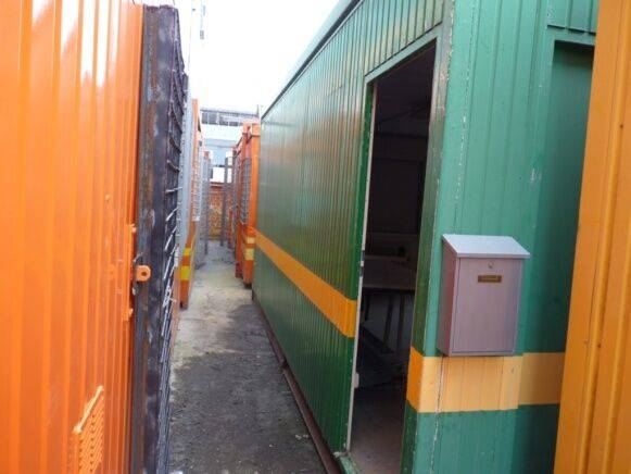 Sale double site container office cabin container for  by auction