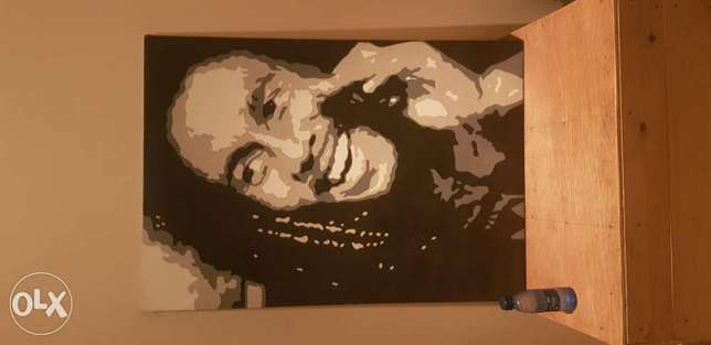 "Original Had Painted ""Bob Marley"""