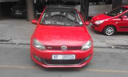 Vw polo 6 red in color 1.6 confort line 2013 model 94000km R158000