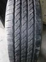 The tyre is 245/65/17