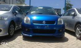 Blue Suzuki swift blue 2010