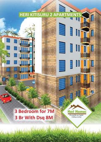 3 Bedroom, SQ, Dining,Lift, Back up Generator and Borehole Westlands - image 1