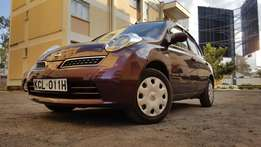 Nissan march v COLLET sr edition with genuine LOW mileage 42k 2010 KCL